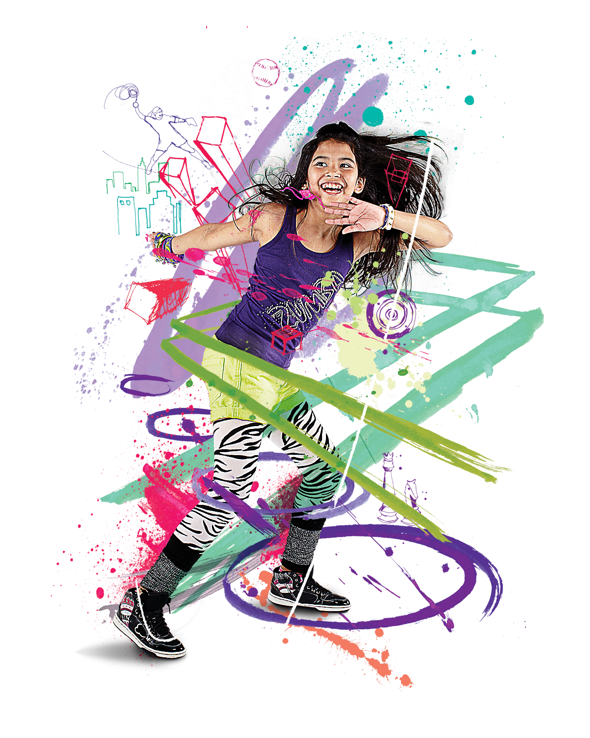 Pix For > Kids Dance Png Easy Designs To Draw For Kids