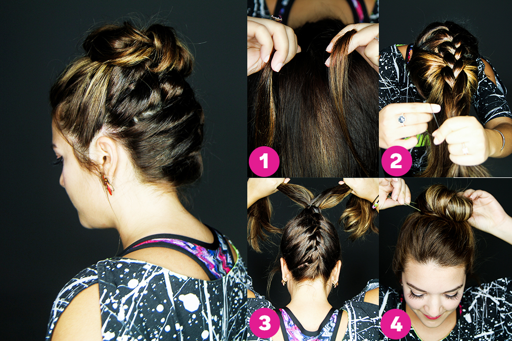 The Top Knot With a Twist