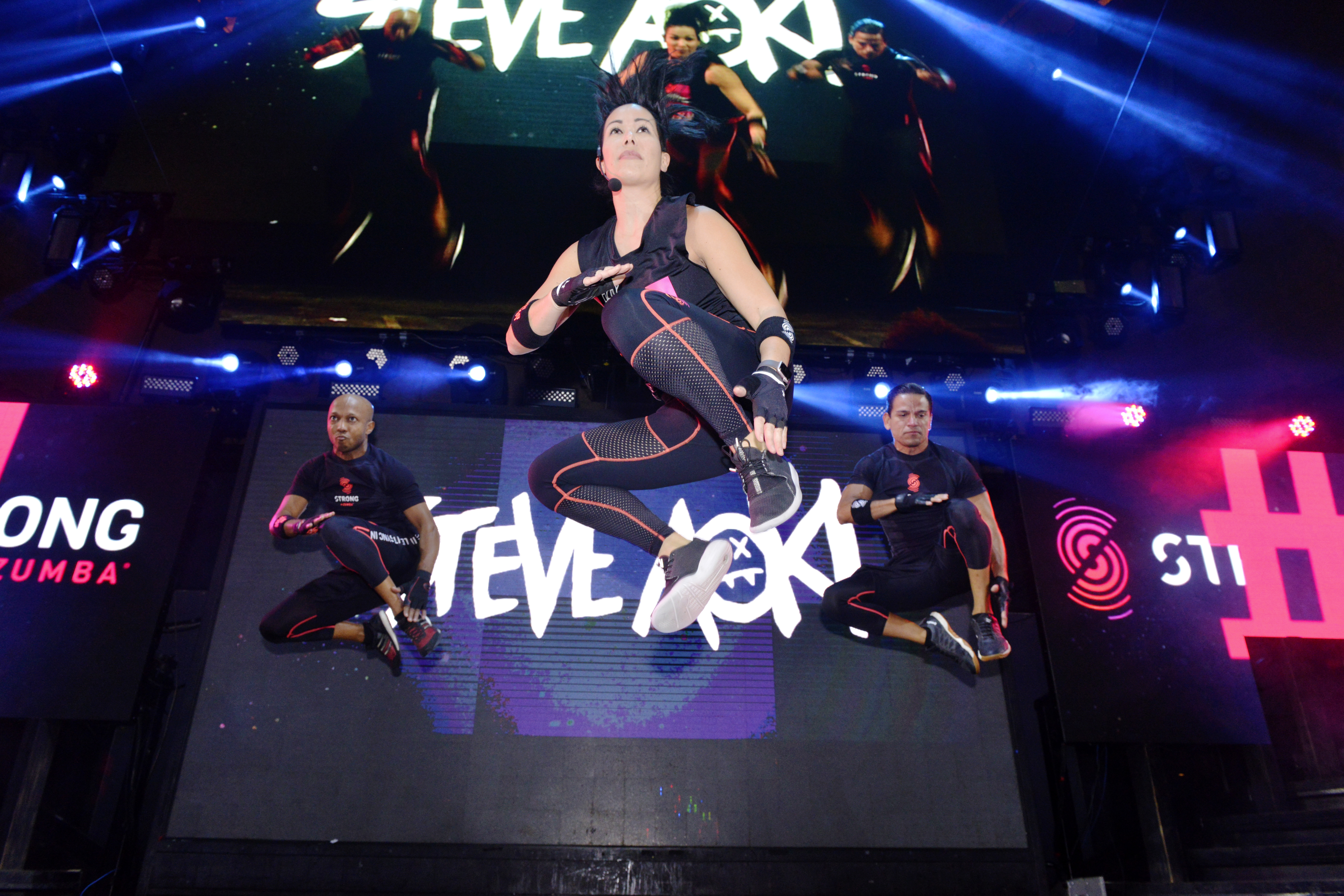 STRONG by Zumba® Lead Master Trainer Ai Lee Syarief | October 4, 2017